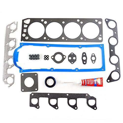 (SCITOO Compatible with Cylinder Head Gasket Kits fit 95-98 Ford Mazda B2300 Ranger 2.3L 2.5L 8v SOHC Engine Cylinder Head Gaskets Automotive Replacement Gasket Set )