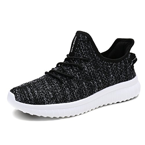 DREAM PAIRS Men's Athletic Running Shoes Sneakers 170726_1_M Black White Size 9.5 M US from DREAM PAIRS