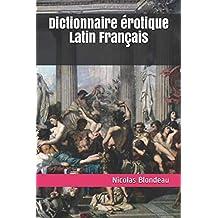 Dictionnaire érotique Latin Français