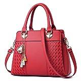 IBFUN Women Handbags Top Handle Bags PU Leather Shoulder Bags Satchels Tote Bags