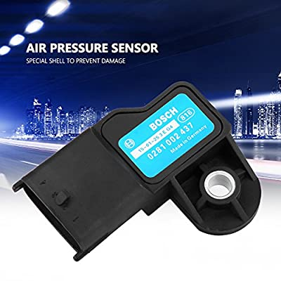 Air Pressure Boost Sensor, Fydun Map Manifold Air Pressure Turbo Boost Sensor for Vauxhall for Opel for Fiat 0281002437: Automotive