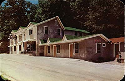 Pine Mountain Hotel Whitesburg, Kentucky Original Vintage Postcard