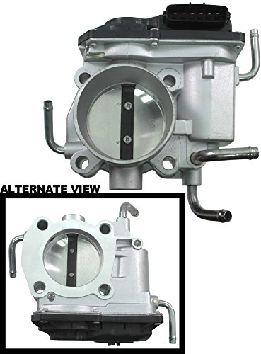 APDTY 112799 Electronic Throttle Body w/Actuator TPS Throttle Position Fits 2.4L Engine & 4 Tubes On Select Toyota or Scion Models (Replaces 22030-0H020, 22030-0H021, 22030-28060, 22030-28061)