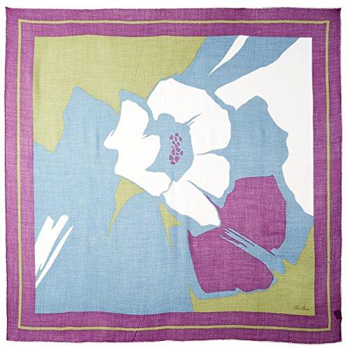 LORO PIANA Women's Patterned Scarf, Purple by LORO PIANA