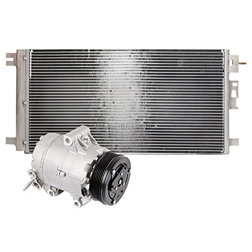 Brand New AC Compressor + A/C Condenser and Drier for Chevy Malibu & Pontiac G6 - BuyAutoParts 60-86879R3 New Malibu Compressor