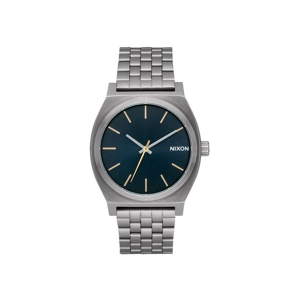 Nixon Time Teller Watch Gunmetal Indigo 37mm