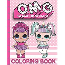 O.M.G. Glamour Squad: Coloring Book (Volume 1)