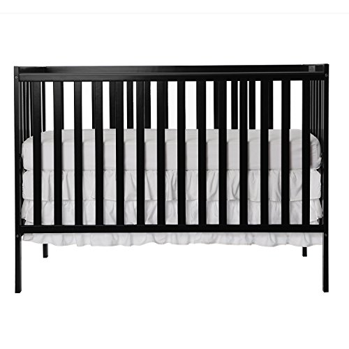 Dream On Me Synergy 5-in-1 Convertible, Crib, Black