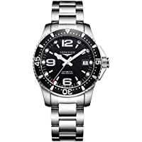 Longines HydroConquest Black Dial Automatic Mens Watch L3.741.4.56.6