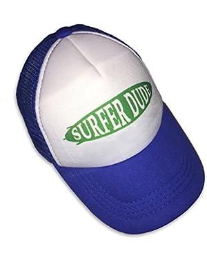 Surfer Dude Blue Infant/Kids Trucker Hat