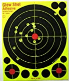 "50 Pack - 10"" Reactive Splatter Targets - Glowshot - Multi Color - Gun and Rifle Targets - Glow Shot"