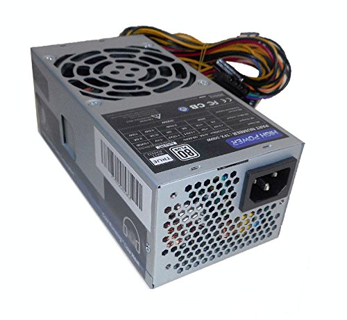 HIGH POWER TFX-300W 80Plus Certified High Efficiency Active PFC 300-Watt Quality Power Supply for Dell Small Form Factor Desktop PC