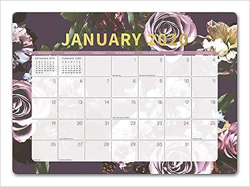 Afl Calendar 2020 Orange Circle Studio 2020 Decorative Desk Blotter Calendar, August