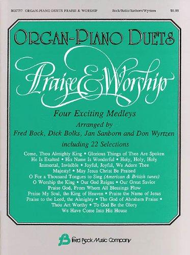 Organ-Piano Duets Praise & Worship Organ Piano Duets