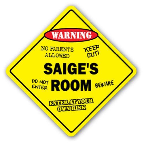 SAIGE'S ROOM SIGN kids bedroom decor door children's name boy girl gift