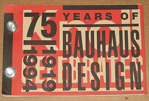 Knoll Celebrates 75 Years of Bauhaus Design, 1919-1994