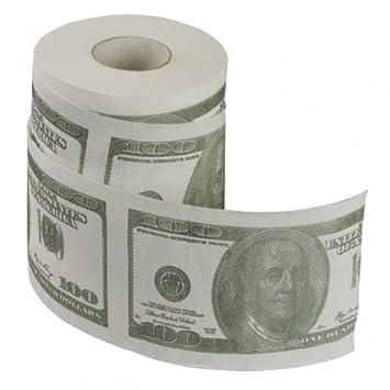 Klopapier Us Dollar 100 Dollarschein Toilettenpapier