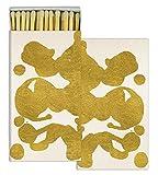 HomArt Matches - Rorschach - Gold Foil (Set of 6)