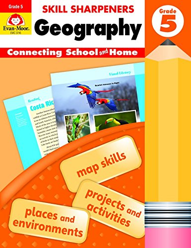 Skill Sharpeners: Geography, Grade (Map Skills Book)