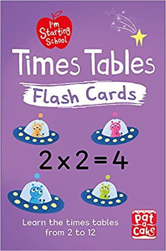 Times Tables Flash Cards: Essential flash cards for times ...
