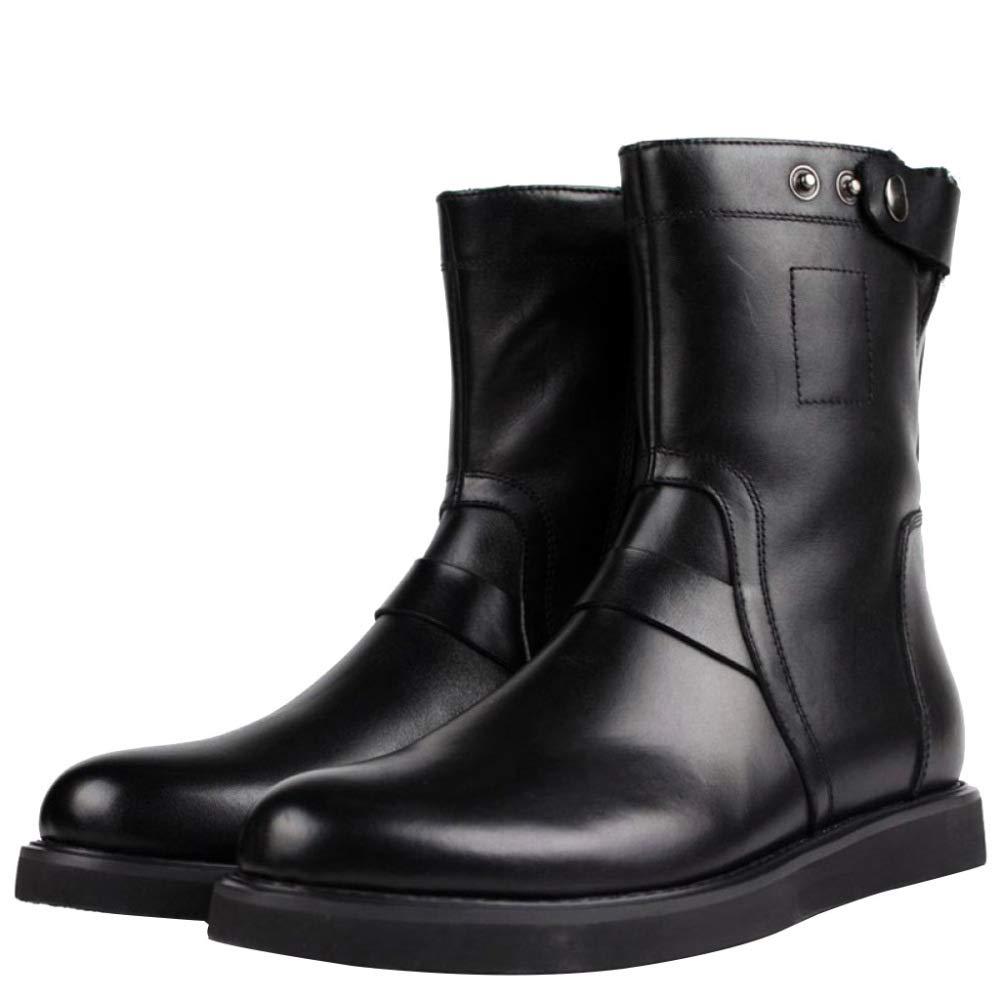 Martin Stiefel Für Für Für Herren Herbst Und Winter Rutschfeste Outdoor-Stiefel Für Herren Herren Patrol Stiefel Aus Leder-Schwarz fe04cd