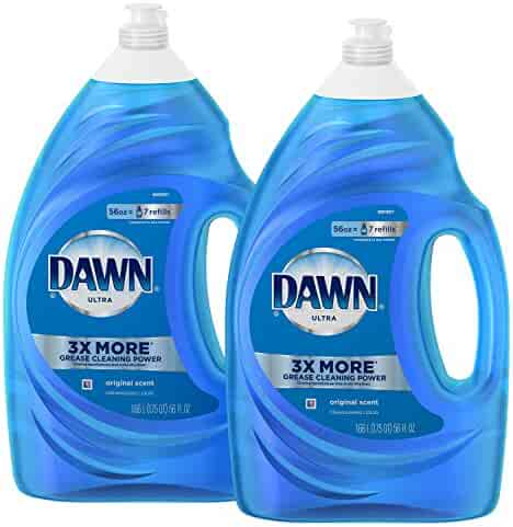 Dawn Ultra Dishwashing Liquid Dish Soap, Original Scent, 2 count, 56 oz.