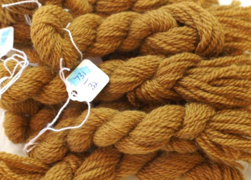 Paternayan Needlepoint 3-ply Wool Yarn-Color-731-Honey Gold-THIS LISTING IS FOR 2 MINI SKEINS 2 Ply Gold Yarn