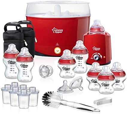 Rouge TOMMEE TIPPEE Closer to Nature Essentials Kit Sans BPA