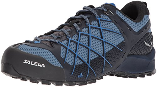 Salewa Men's Wildfire, Premium Navy/Royal Blue, 11.5 M US (Best Shoes For Running On Pavement 2019)
