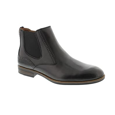 d4393b85d Tommy Hilfiger Tommy Colton - Black (Leather) Mens Boots 44 EU   Amazon.co.uk  Shoes   Bags
