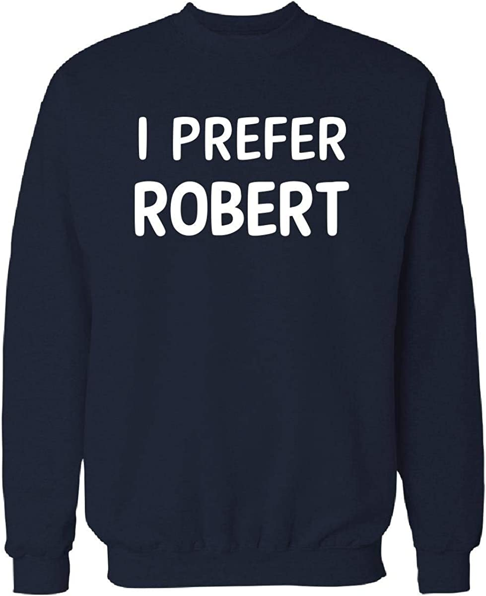 Urban Collection I Prefer Robert Name Sweatshirt Navy/_Blue S