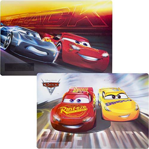 Disney Pixar Cars Kids 3D Table Mat Set of 2