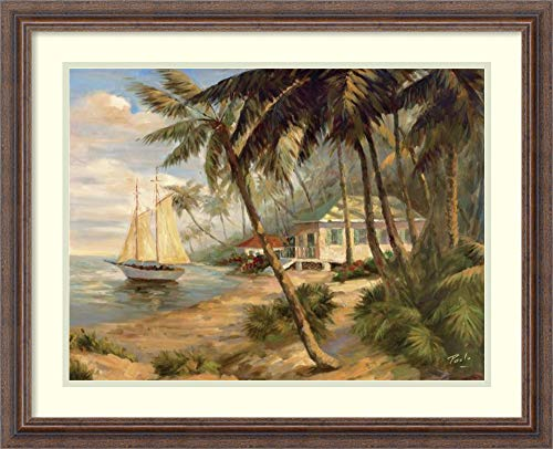 Bolo Key West Hideaway - Framed Wall Art Print | Home Wall Decor Art Prints | Key West Hideaway by Bolo | Country Rustic Decor