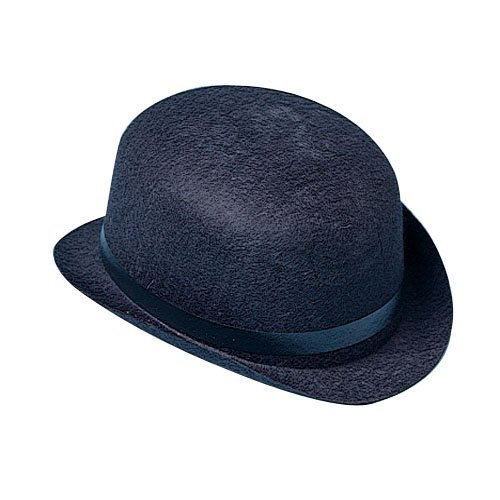 US Toy Black Derby Hat (Bowler Hat)