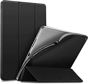 "ESR Rebound Slim Smart Case Specially Designed for iPad Air 3 10.5"" 2019, Flexible TPU Back Cover with Rubberized Coating, Auto Sleep/Wake and Viewing/Typing Stand for iPad Air (3rd Gen) 2019, Black"