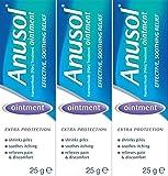 Anusol Ointment 25g x 3 Packs