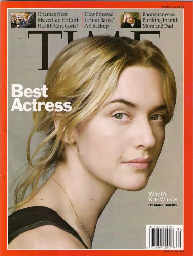 KATE WINSLET TIME MARCH 2009 BEST ACTRESS OSCAR!