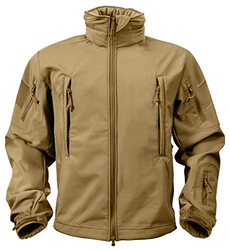 Rothco Special Ops Soft Shell Jacket, Coyote, -