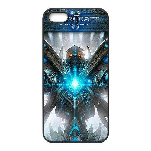 Starcraft Ii Legacy Of The Void 2 coque iPhone 4 4s cellulaire cas coque de téléphone cas téléphone cellulaire noir couvercle EEECBCAAN01023