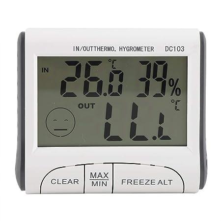 Skitior Precisión Termómetro for refrigerador - Termómetro Digital ...