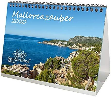 Mallorcazauber – Calendario de mesa DIN A5 2020 Mallorca Set de ...
