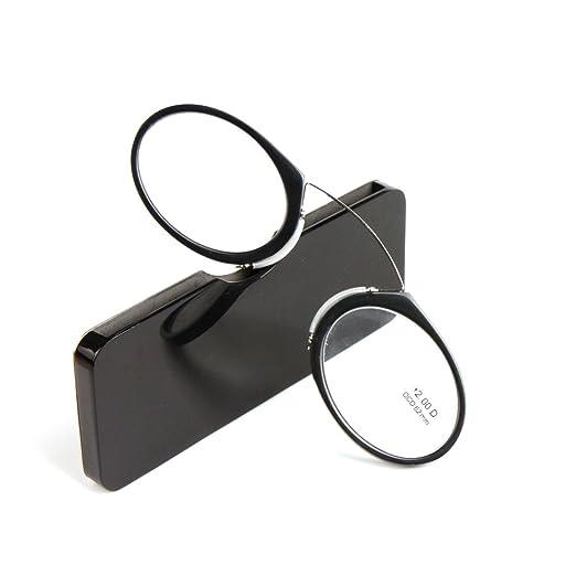 6 opinioni per JUNDASI Pince Nez stile Nose Riposo Stringendo Vetri di lettura portatili con