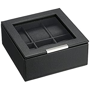 Wolf Designs 309603 Leather Lizard Watch Case