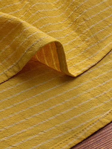 Lunghe T Elegante Camicia Forti Tumblr Maglietta Sciolto Maniche Donna Top Magliette Taglie Ragazza Lunga Pulsante Tunica Shirt Weant Lino Striscia Giallo Bianca Felpe gnPxZ8Swq