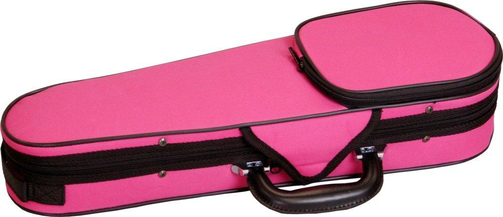 Carlo Giordano カルロジョルダーノ バイオリンケース TRC-100C 3/4 DPK ピンク B00AO17CWY 3/4|ピンク ピンク 43163