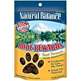 Natural Balance Mini Rewards Duck Formula Dog Treats, 4-Ounce