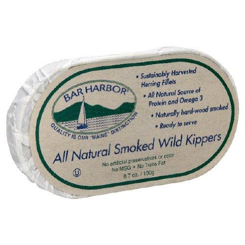 Бар-Харбор Копченый дикий Kippers, 6,7 унции (в упаковке 12)