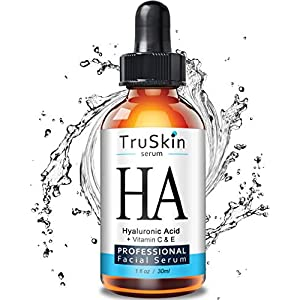 TruSkin Botanical Hyaluronic Acid Hydrating Face Serum, 1 fl oz.