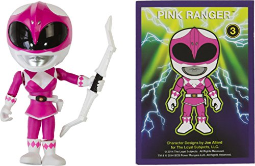 "Pink Ranger: ~3.3"" The Loyal Subjects Action Vinyls for sale  Delivered anywhere in USA"