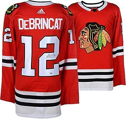 5570fd731f7 Alex DeBrincat Chicago Blackhawks Autographed Red Adidas Authentic Jersey -  Fanatics Authentic Certified
